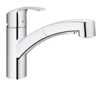 Eurosmart Sink Mixer Low Spout with Pull-out Dual Spray