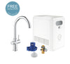GROHE BLUE PROFESSIONAL C-SPOUT KIT FILTERED & SPARKLING WATER