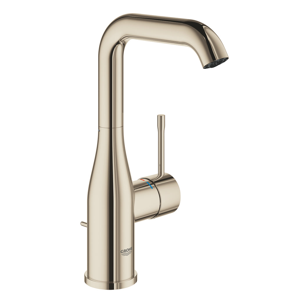 Essence Basin Mixer L-size Polished Nickel