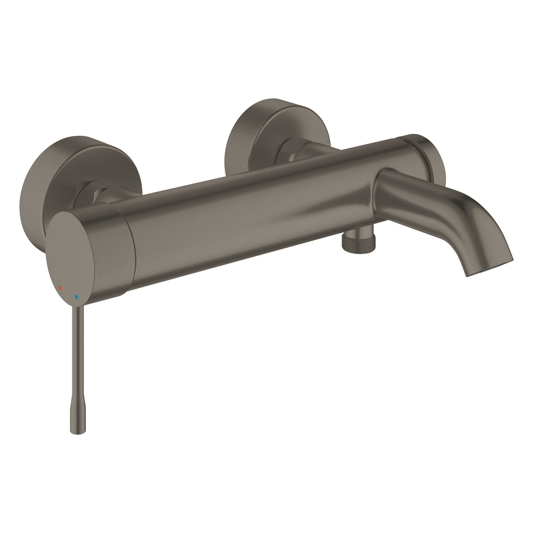 Essence Single-lever Bath Mixer Brushed Hard Graphite
