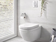 Load image into Gallery viewer, Euro Ceramic Wall-Hung WC Rimless