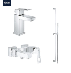 Eurocube Bundle Offer, Complete Bathroom Mixers Set + Free PUMA Duffle Bag