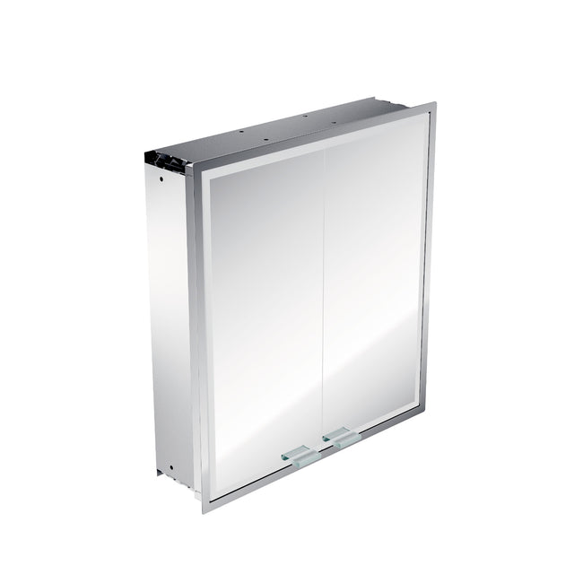 Asis Prestige Built In  Illuminated Mirror Cabinet 615x665mm