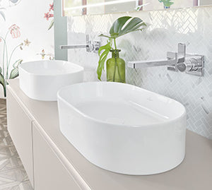 Collaro Surface-mounted Washbasin 560x360 mm Oval