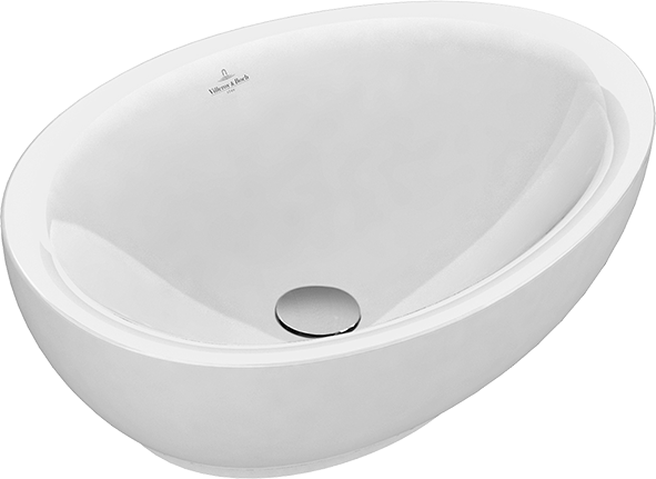 Aveo New Generation Surface-mounted Washbasin
