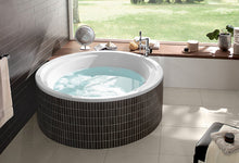 Load image into Gallery viewer, Aqualoop Built-in Bathtub Round Shape 175 cm