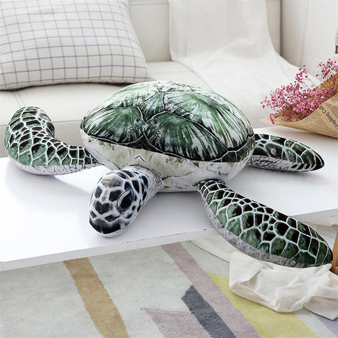 Green Sea Turtle Stuffed Animal, Available in five sizes - RubyVanilla