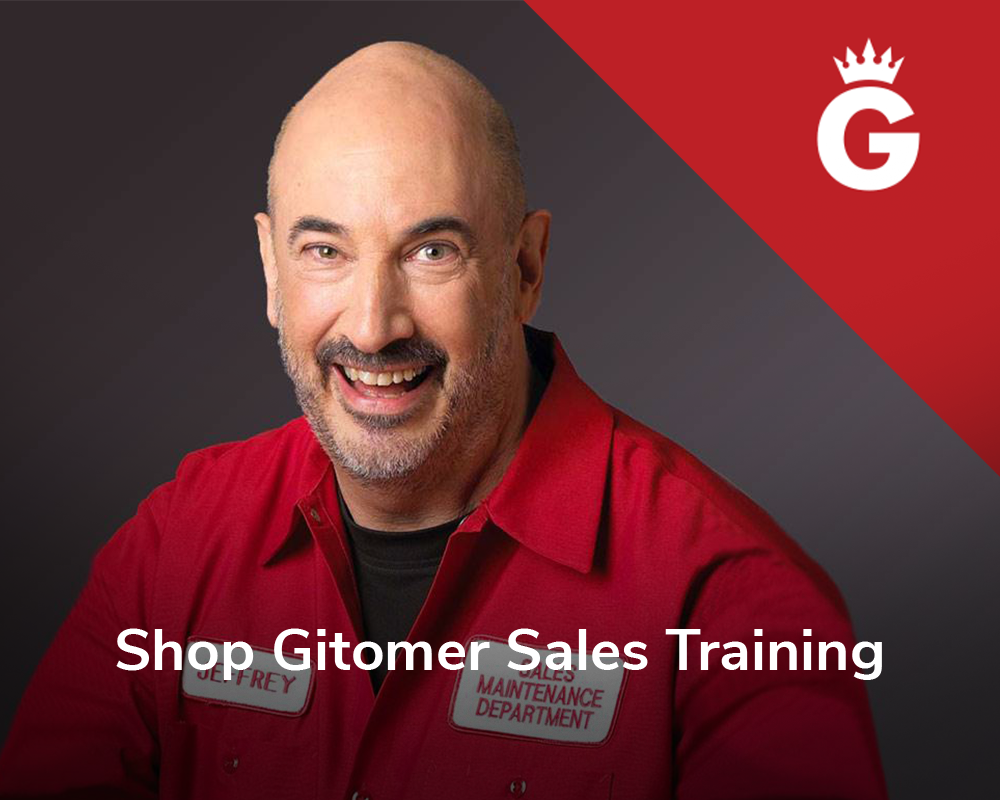 Gitomer Sales Training
