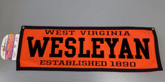 Collegiate Pacific WVWC Felt Pennants