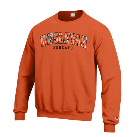 Champion Orange Crew Sweatshirt