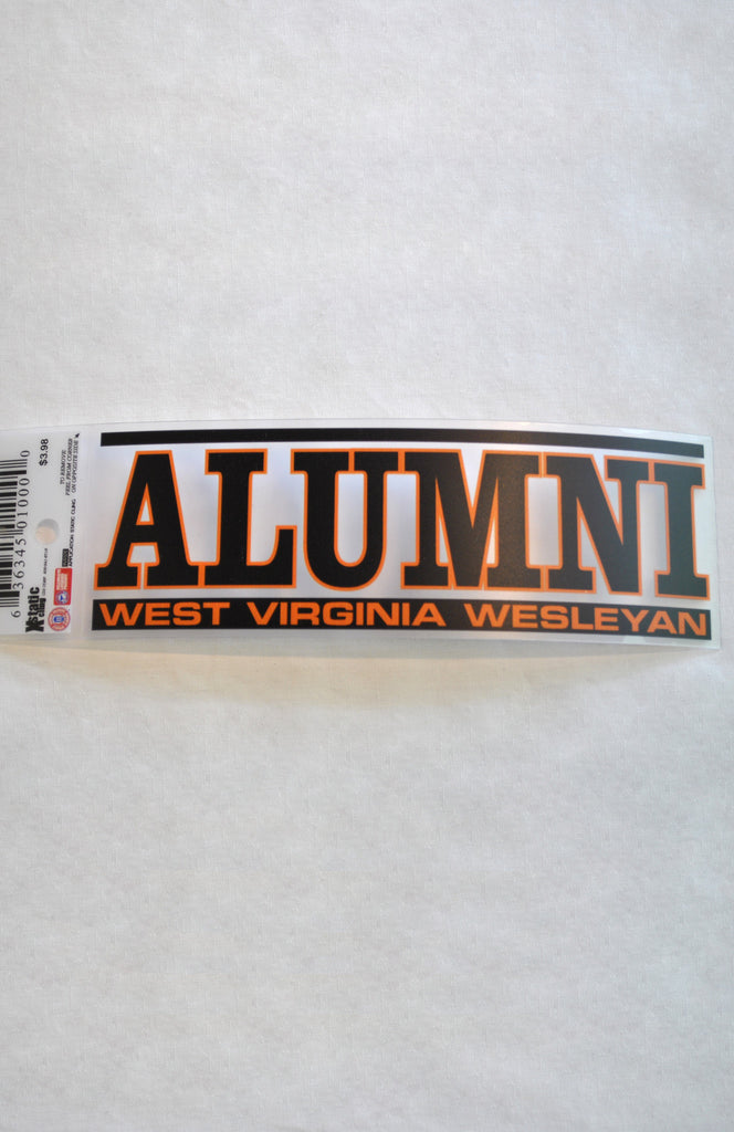 Xstatic Cling Alumni Decal