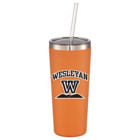 RFSJ Orange Powder steel  coated Tumbler