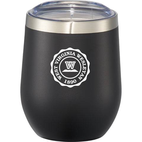 RFSJ Black Powder Coated Steel Tumbler