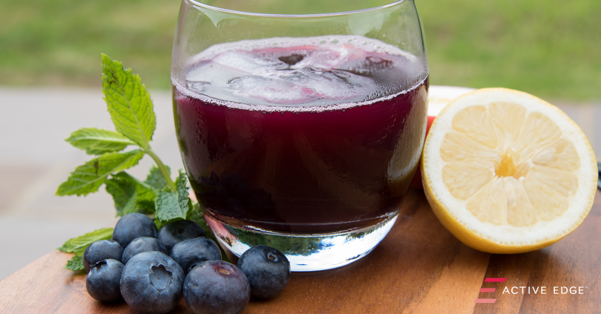 Blueberry & Apple Immunity Juice
