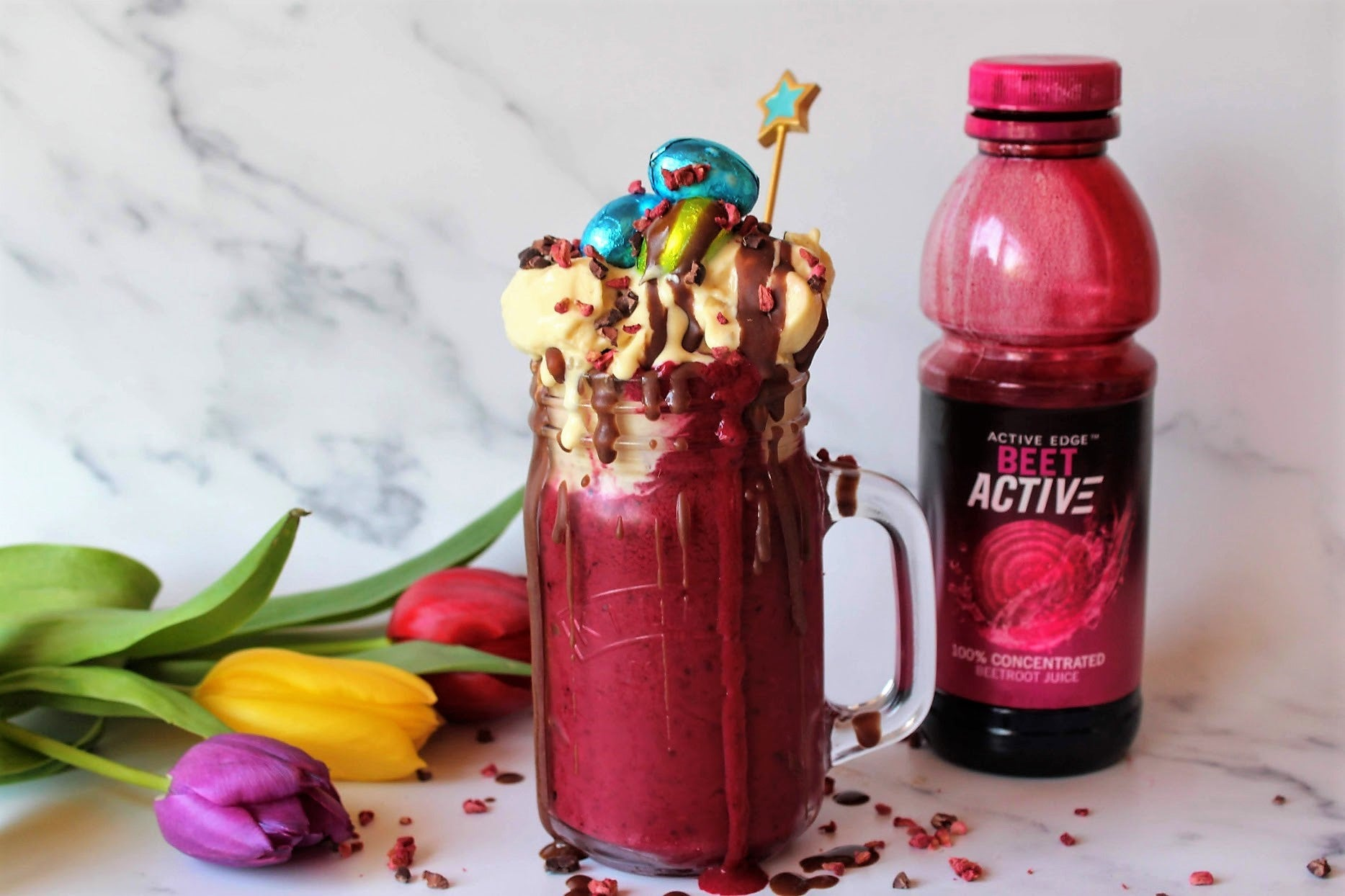 Beetroot Nana Easter Smoothie