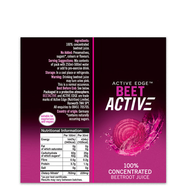BeetActive® Concentrate 30ml Shot x 24 -Special Price Whilst Stocks Last!