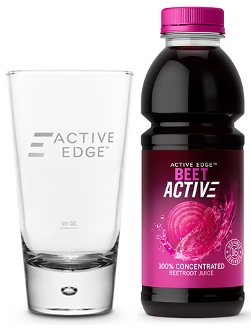 BeetActive 473ml + FREE Glass!