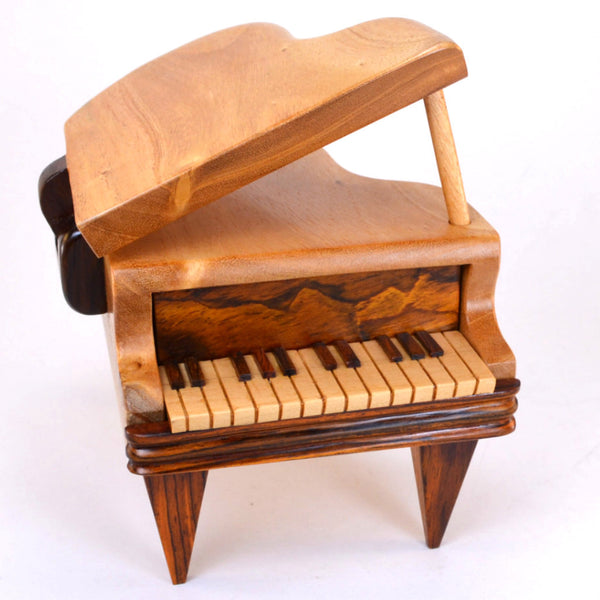 puzzle box | handcrafted, wooden piano box