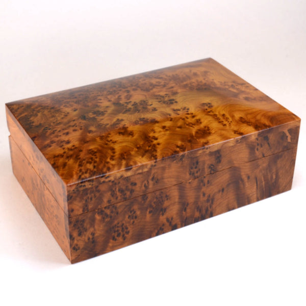 wooden box, Thuya wood box, gift for men, keepsake box