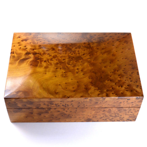 wooden box, moroccan thuya wood, unique gift for men