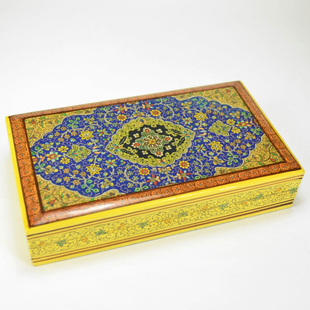 Floral Star Box | Handcrafted Box, Fair Trade, Unique Gift