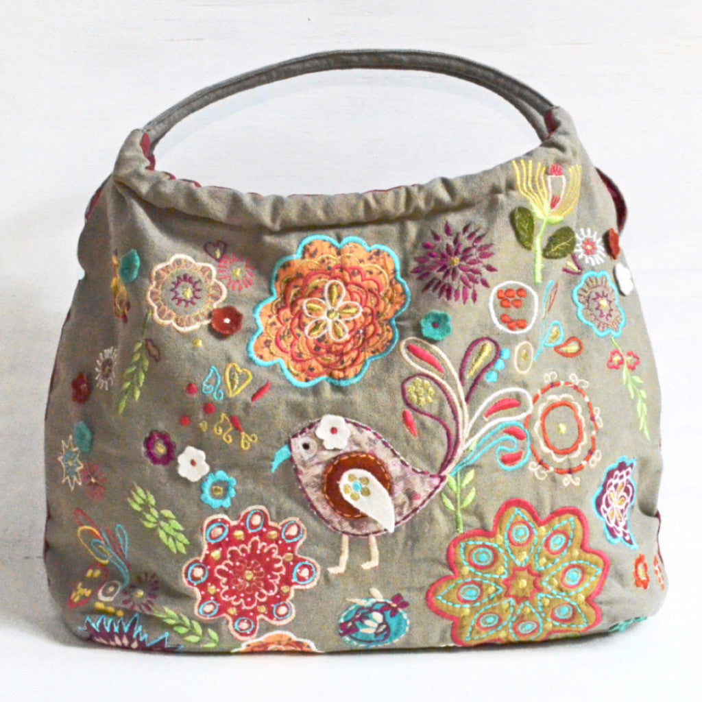 Embroidered Bag handcrafted and fair trade from India