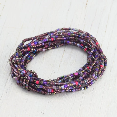 Beaded Bracelet - Purple