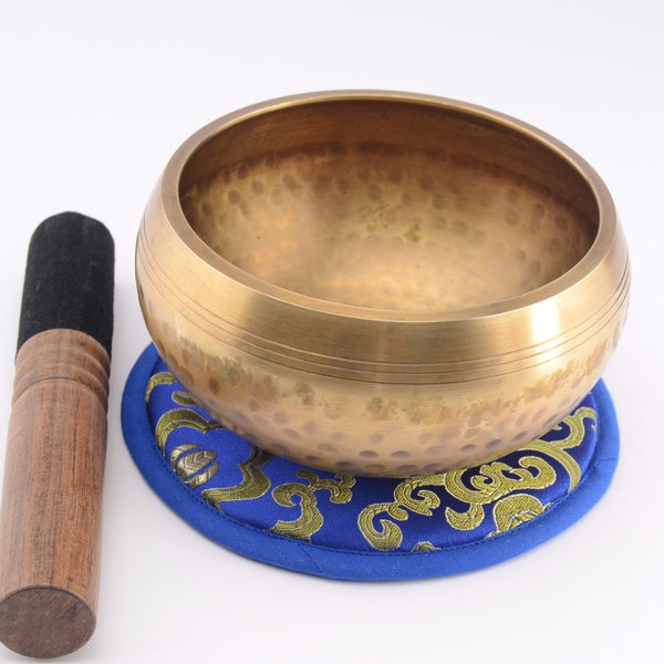 Hand Hammered Singing Bowl Set