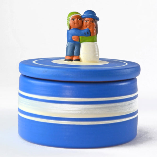 cute anniversary gift idea, ceramic true love trinket box