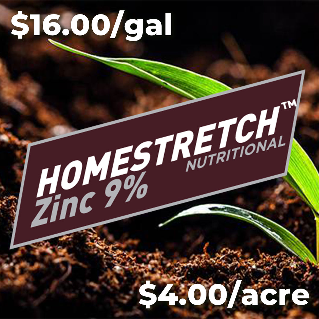 HOMESTRETCH™ Zinc 9% - 250gal.