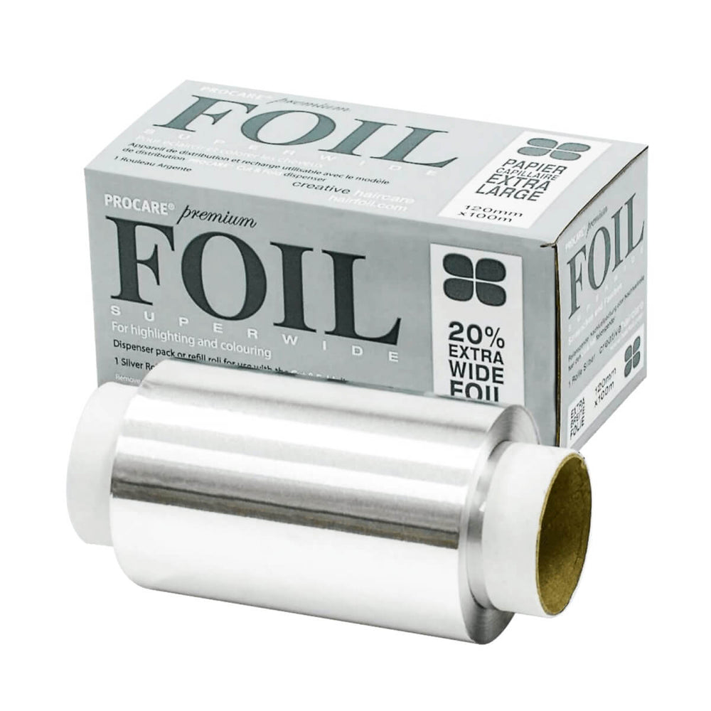 Load image into Gallery viewer, Procare Premium Superwide Hair Foil 120mm x 100m