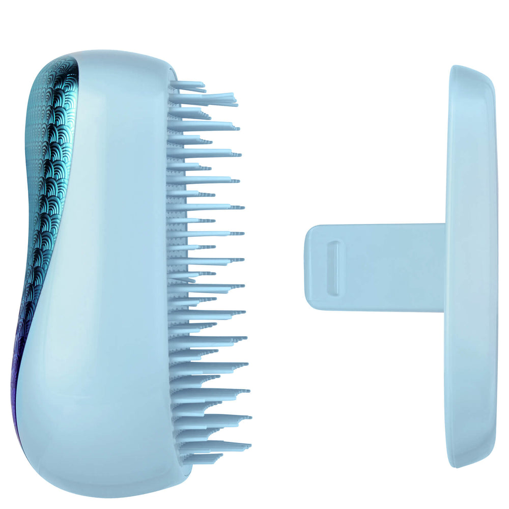 Tangle Teezer On-The-Go Compact Detangling Hairbrush Mermaid Blue - Kudos Hair