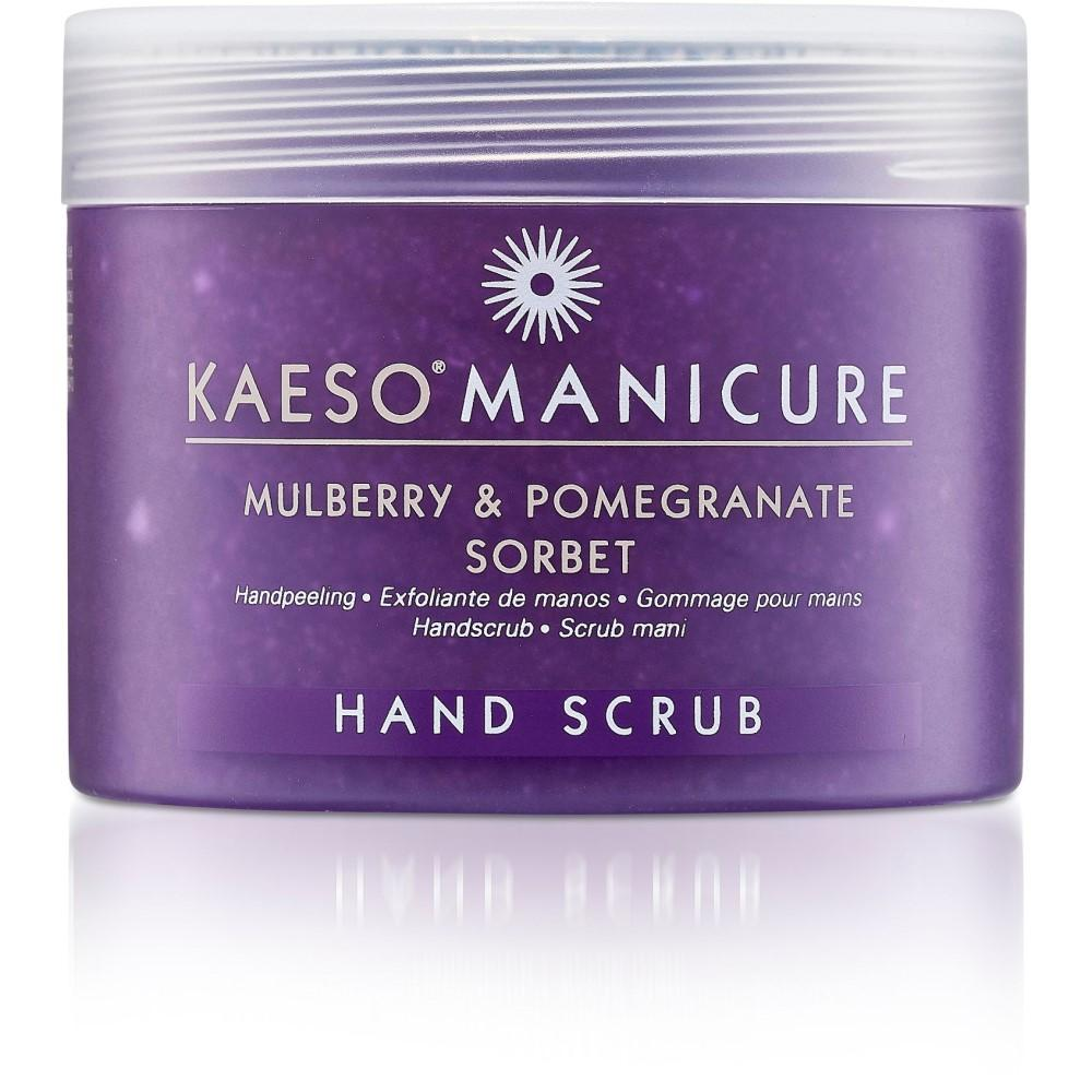 Kaeso Mulberry & Pomegranate Sorbet, Hand Scrub 450ml
