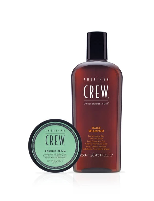 American Crew Daily Shampoo and Forming Cream Set