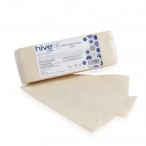 Hive Fabric Wax Strip 100 Pack