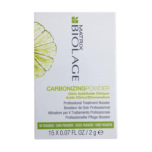 Matrix Biolage Carbonizing Powder Professional Treatment Booster 15x2g - Kudos Hair