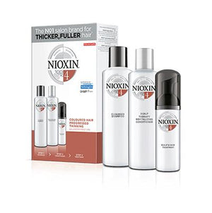 Nioxin Trial Kit System 4 - For Coloured Hair with Progressed Thinning - Kudos Hair