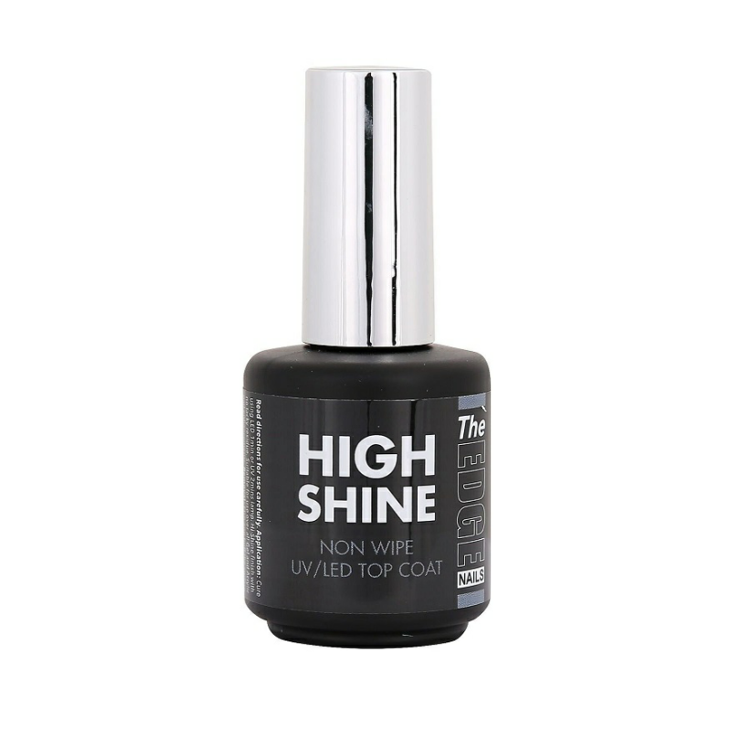 Load image into Gallery viewer, The Edge High Shine Non Wipe UV/LED Top Coat 15ml