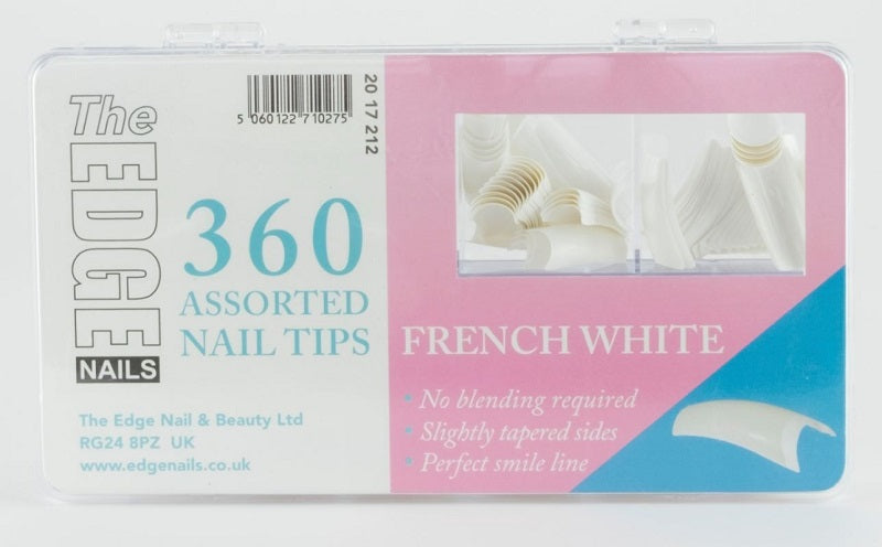 The Edge French White Tips - 360 Pack