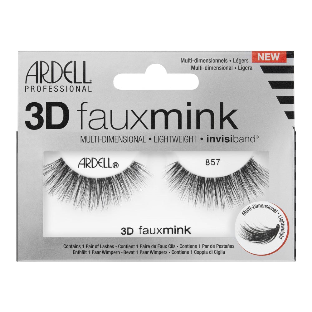 Ardell 3D Faux Mink 857 Strip Lashes
