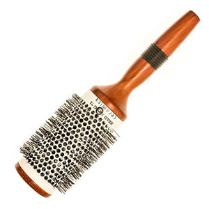Head Jog 72 53mm Wooden Ceramic Radial Brush - Kudos Hair