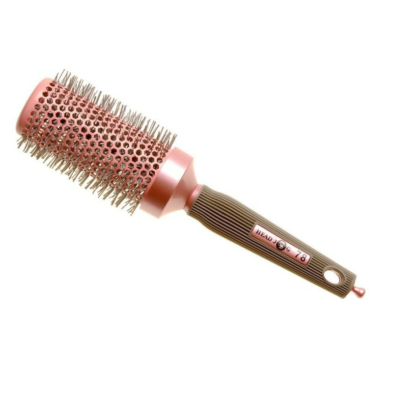 Head Jog 78 43mm Ceramic Ionic Pink Radial Brush - Kudos Hair