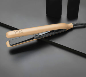 Load image into Gallery viewer, Diva Pro Styling Precious Metals Touch Straightener Rose Gold - Kudos Hair