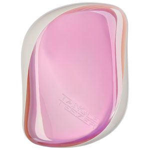 Tangle Teezer On-The-Go Compact Detangling Hairbrush Holographic Pink - Kudos Hair