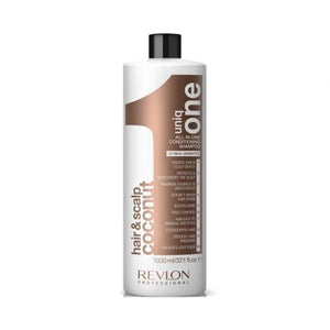 Revlon Uniq One Conditioning Coconut Shampoo 1000ml - Kudos Hair