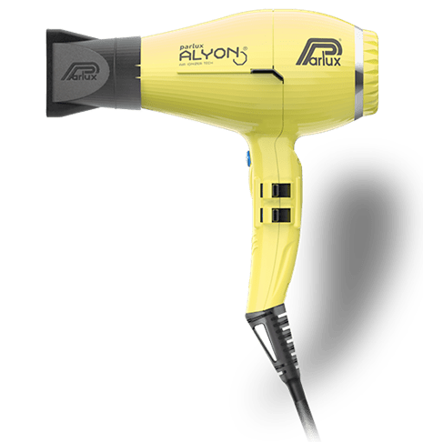 Parlux Alyon Light Air Ionizer Dryer YELLOW - Kudos Hair