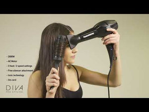 Load and play video in Gallery viewer, Diva Pro Styling Rapida 4000 Dryer Violet