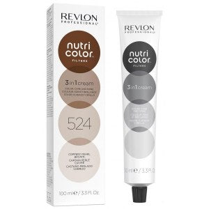 Revlon Professional Nutri Color Filter 524 Copper Pearl Brown 100ml