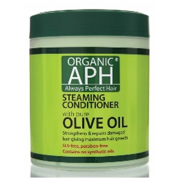 Load image into Gallery viewer, Organic APH Olive Oil Steaming Conditioner 500ml - Kudos Hair