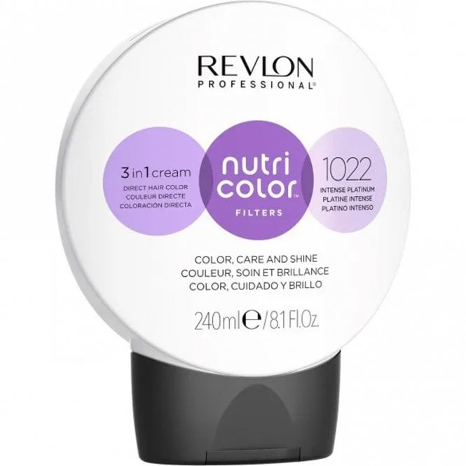 Revlon Professional Nutri Color Filter 1022 intensive Platinum 240ml